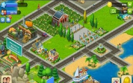 Playing and gaming the township PC